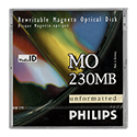 Philips 230MB RW Optical Disk, 512B/S (32PDO)
