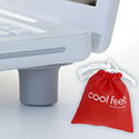 Bluelounge Cool Feet Laptop Ventilation Support (CF-01-SL)