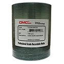 CMC CD-R 80 Min. 100/PK White Hub Printable (T-CDR-WPP-SK)
