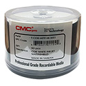 CMC CD-R 700MB 50/SP White Inkjet Watershield (TCDRWPPSBWS1)