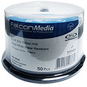 Falcon CD-R 700MB 50/SP Inkjet White Water Repellent (0646)