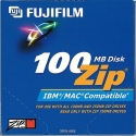 Fujifilm Zip 100MB Removable Cart. IBM/MAC (25275001)