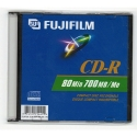Fujifilm CD-R 80 Minute 700MB in Slim Jewel Case (25301441)