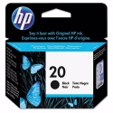 HP Black #20 IJ Print Cartridge (C6614DN)