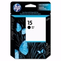 HP Black #15 IJ Print Cartridge (C6615DN)