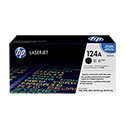 HP 124A Black ColorSphere Print Cartridge 2.5K (Q6000A)