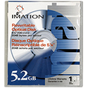 "Imation 5.25"" RW Optical 5.2GB 2048B/S (91551)"
