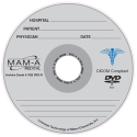 MAM-A DVD-R 4.7GB Medical Logo, Silver top in JC (163197)