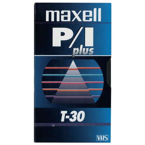 Maxell T-30 Plus VHS Videocassette (217112)