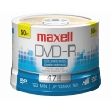 Maxell DVD-R 4.7GB, 16X, Branded, 50/Spindle (638011)