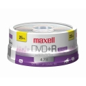 Maxell DVD+R 4.7GB, 16X, Branded Top, 25/Spindle (639011)