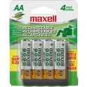 Maxell AA Rechargeable Battery 2100mAh 4/PK (888691)