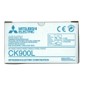 Mitsubishi 3 Panel Roll and Ink Ribbon Color (CK-900L)