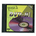 MAM-A DVD-R 4.7GB General Purpose, Silver Top (43118)