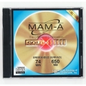 MAM-A CD-R 74 Minute 650MB Branded (Gold) (40189)