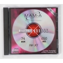 MAM-A CD-R 74 Minute 650MB Printable Silver (41443)