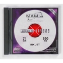 MAM-A CD-R 74 Minute 650MB Printable White (21142)
