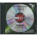 MAM-A CD-R 80 Minute 700MB Blank Silver Top (43202)