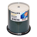 Philips CD-R 700MB 100/Spin White Hub Printable (CR7M5JB00/17)