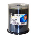 Philips DVD+R 4.7GB, 16X, 100/SP Shiny Silver Top (DR4Y6B00M/17)