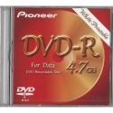 Pioneer DVD-R 4.7GB v2.0 Gen. Purpose in JC White (DVS-RP470SDF)