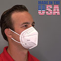 N95 Respirator Mask (MADE IN USA)
