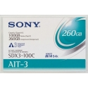 Sony 8mm AIT 3 Data Tape w/R-MIC 100GB (SDX3-100C)