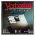Verbatim 230MB Optical Disk, 512B/S, IBM Format (90545F)