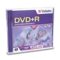 Verbatim DVD+R 4.7GB DataLife+ in JC, 16X (94916)