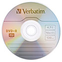 Verbatim DVD+R 4.7GB Branded in Slim JC, 16X, 20/PK (95038)