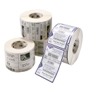 "Zebra 4000D Paper Label 4"" X 1.5"", 1"" Core, 1620/RL (10010046)"