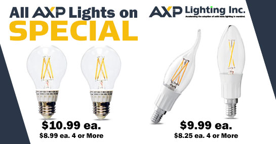 AXP Lighting Specials