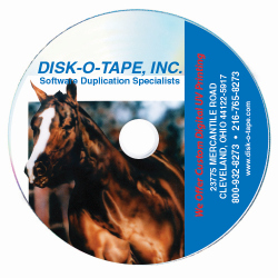 UV Digital Inkjet Printing on CD-R