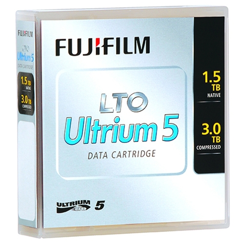 Fujifilm LTO 5 Tape 1.5TB w BC label (81110000410) - Click Image to Close