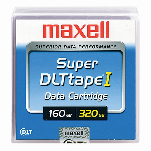 Maxell Super DLTtapeTM 160GB/320GB (183700) - Click Image to Close
