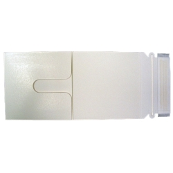CD/DVD White Trifold Mailer