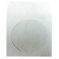 CD Tyvek Env. w/clear window (with flap) (1CDROMTYVEK)