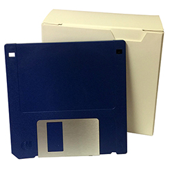 "3.5"" DS/HD Diskette, 10/BX, IBM Formatted with Labels"