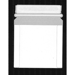 "CD/DVD Mailer 6 3/8""x6"" Self-Seal White (1DIMAILER6X6SS)"