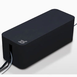 Bluelounge CableBox Cable Management - Black