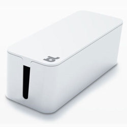 Bluelounge CableBox Cable Management - White
