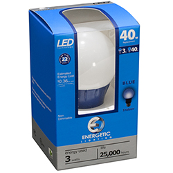 Energetic Blue LED Light (ELY03-AB)
