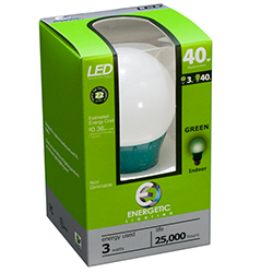 Energetic Green LED Light (ELY03-AG)