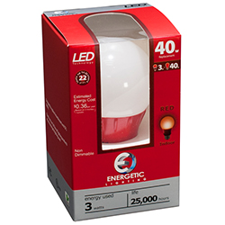 Energetic Red LED Light (ELY03-AR)