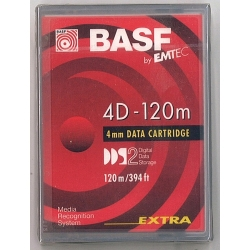 Emtec 4mm 120M Data Tape 4.0GB (343827EUS)