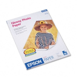 "Epson Glossy Photo Paper 8.5"" X 11"" (S041141)"