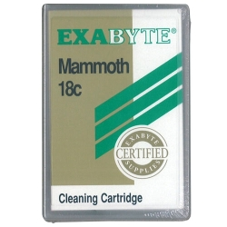 Exabyte 8mm Cleaning Cart. 18-Pass Mammoth (315205)