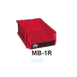 "Garner Red ""Media to be Degaussed"" Bin (MB-1R)"