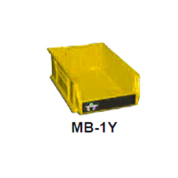 "Garner Yellow ""Degaussed"" bin (MB-1Y)"