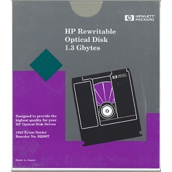 "HP 5.25"" RW Optical 1.3GB 1024B/S (92280T)"